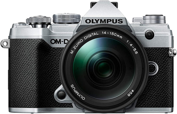 Olympus OM-D E-M5 Mark III w/ 14-150mm Black lens Silver Body