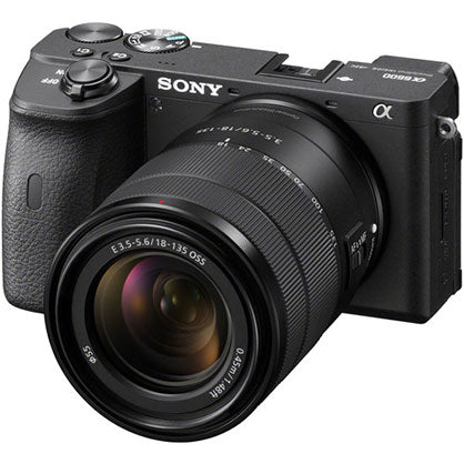 Sony Alpha A6600 24.2MP APS-C ILC E-Mount w/ 18-135mm Black