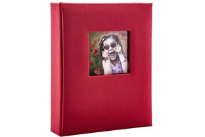 "Kenro Aztec Mini Album Red 6x4"" 36 photos"