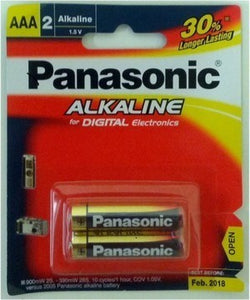 PANASONIC AAA 2PK BATTERY