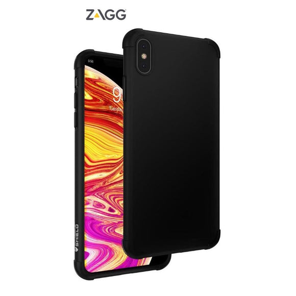 ZAGG INVISIBLE 360 PROTECTION CASE BLACK FOR IPHONE XS MAX