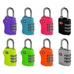 TSA LOCK COMBINATION - VARIOUS COLOURS