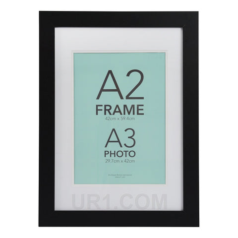 Aries A2 Black Frame with A3 opening