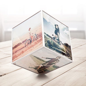 PRONTO SPINNING PHOTO CUBE