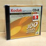 KODAK CD-R 80 GOLD 5PK