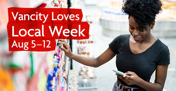 Vancity loves local week runs from 5-12 August