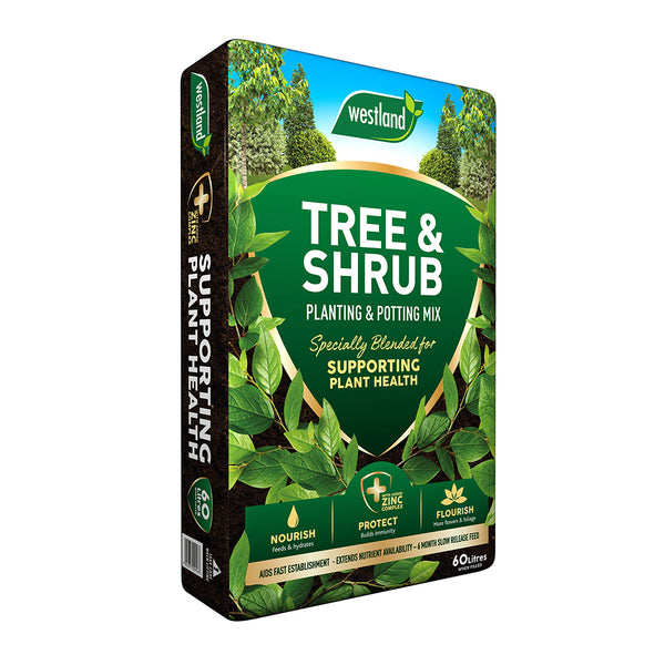 Westland Tree & Shrub Planting and Potting Mix 60L - 2 FOR £14