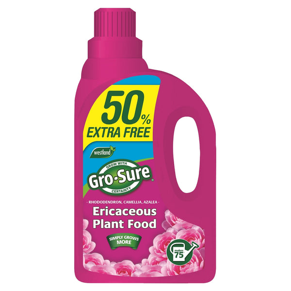 Grow-Sure Ericaceous Plant Food 1L + 0.5L