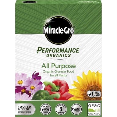 Miracle-Gro Performance Organics All Purpose 1KG