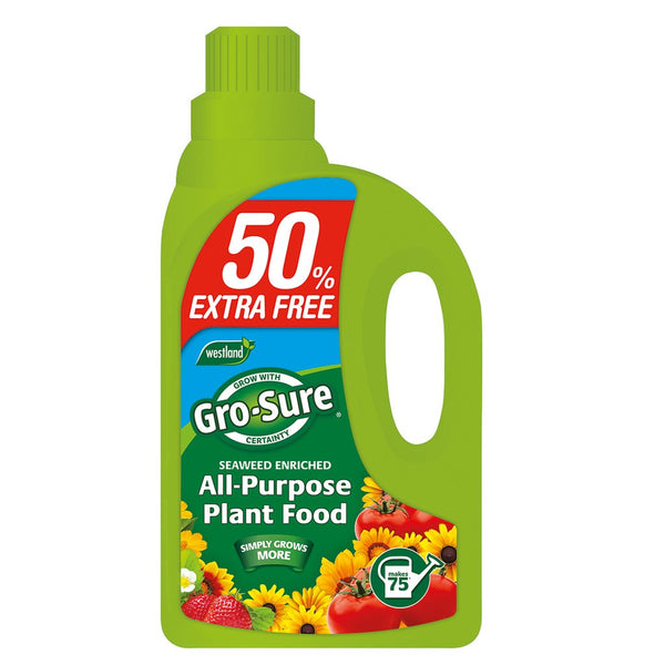 Grow-Sure All Purpose Plant Food 1L + 0.5L