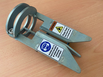 Zinc Plated Multi Post Christie Hammer Guide - Free Postage