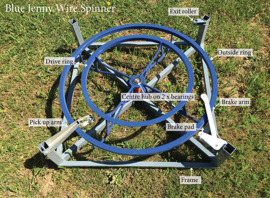 Blue Jenny Wire Spinner