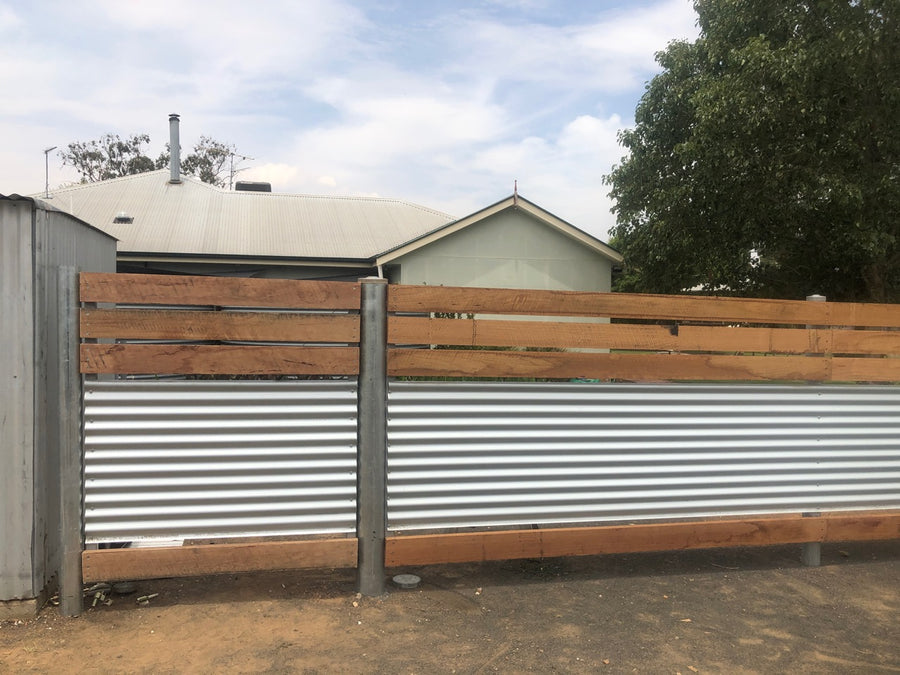 Steel & Timber Fencing
