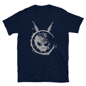 Space Skull Classic Unisex T-Shirt - Official Powerman 5000 Merch
