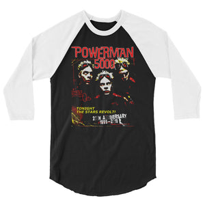 TTSR! 20th Anniversary Baseball Jersey - Official Powerman 5000 Merch