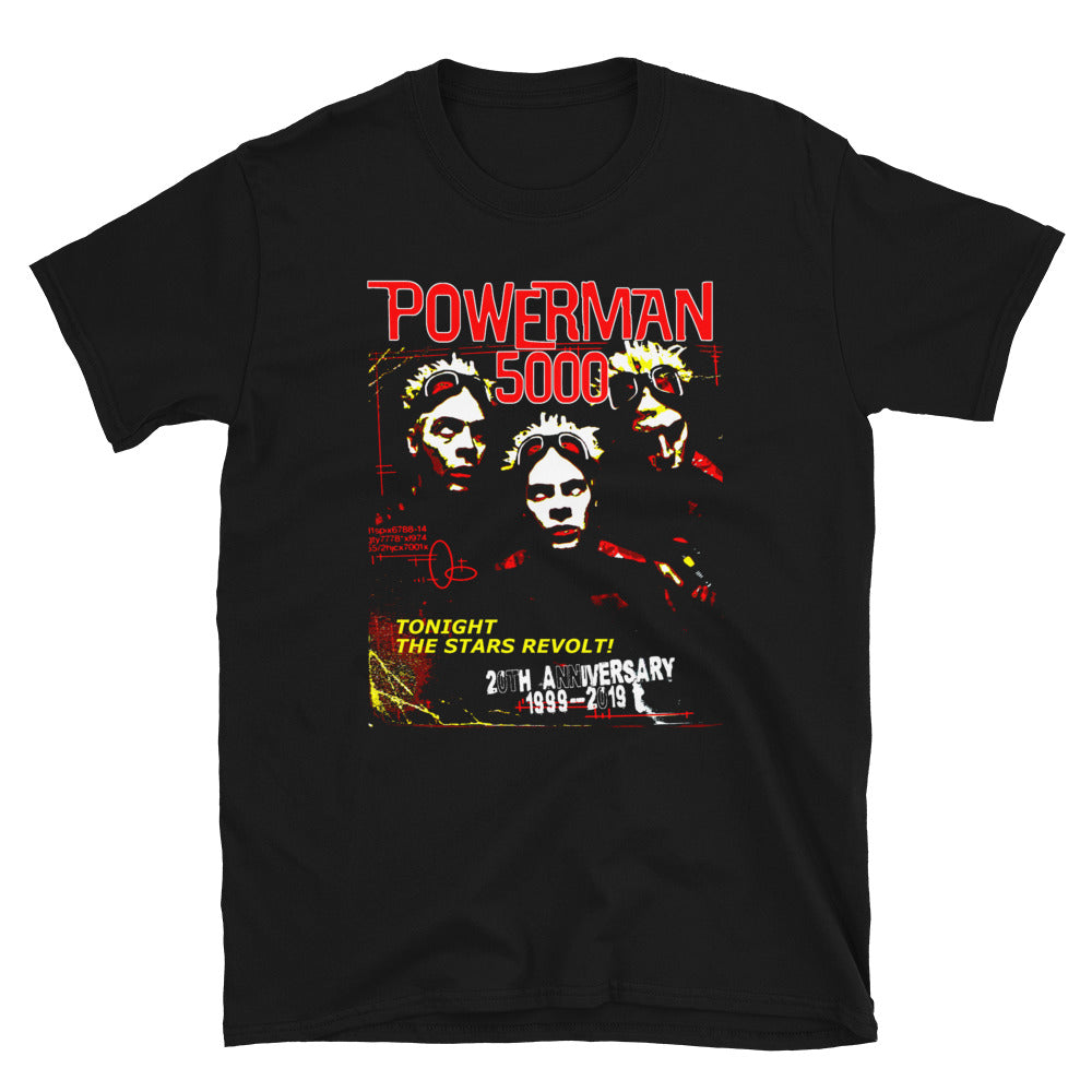 TTSR! 20th Anniversary Unisex T-Shirt - Official Powerman 5000 Merch