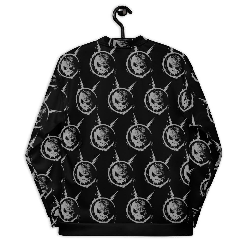 Space Skull Unisex Bomber Jacket - Official Powerman 5000 Merch