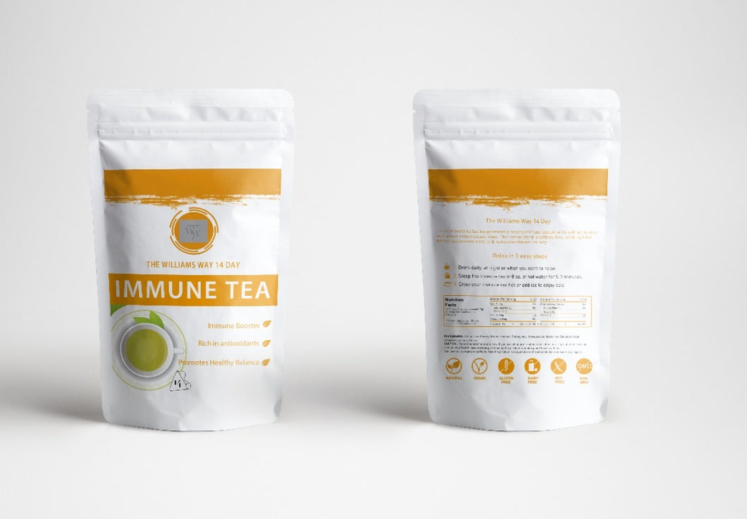 The Williams Way Immune Tea
