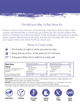 Load image into Gallery viewer, The Williams Way 28 Day Detox Kit