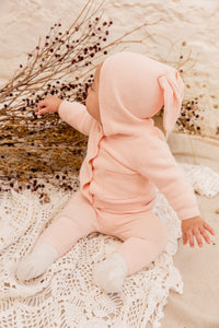 Little Bunny Legging in Rose
