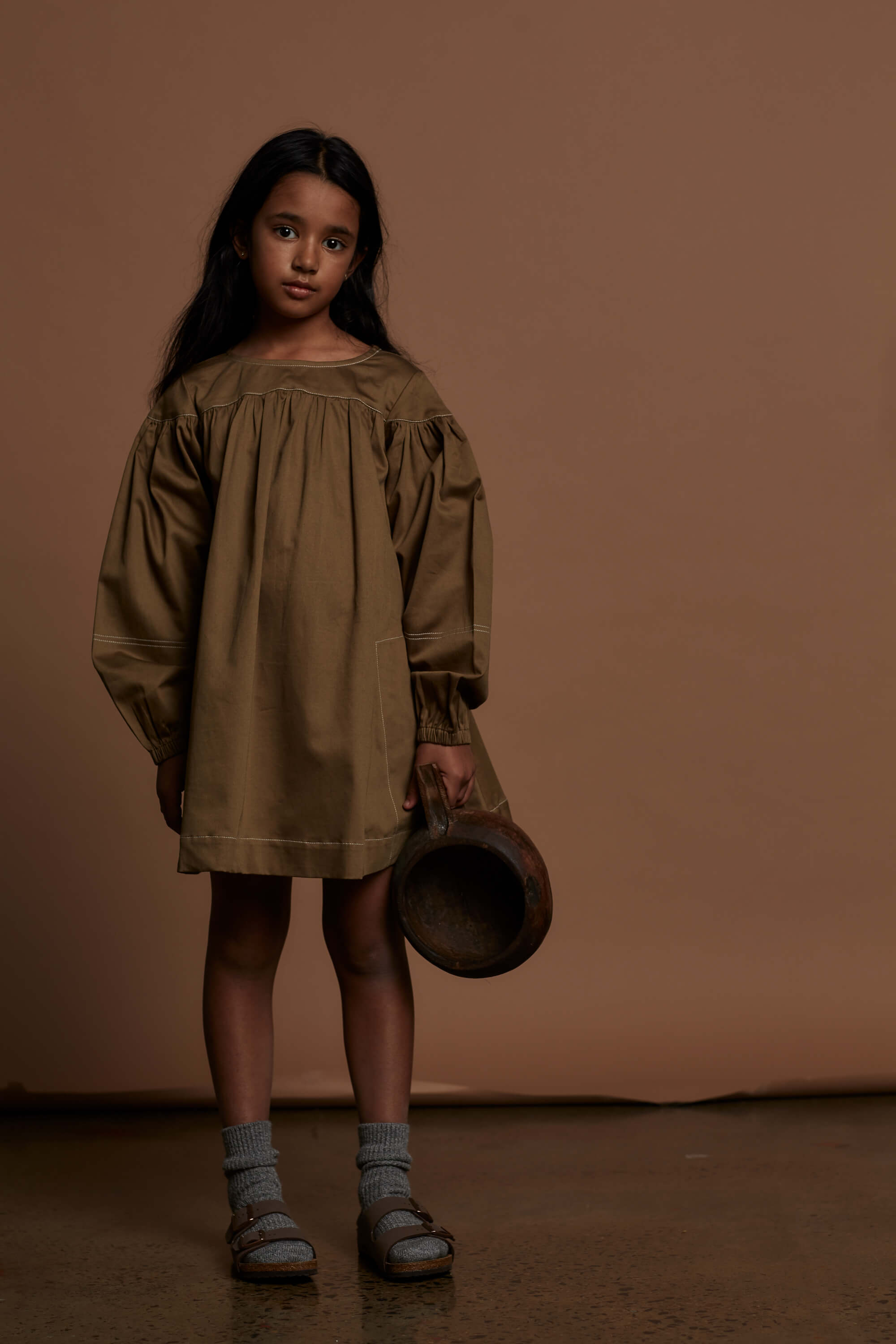 The Grace Dress | Khaki