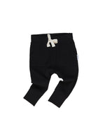 Load image into Gallery viewer, Black Pocket Drop Crotch Pant | Black