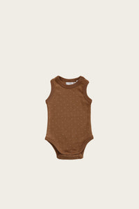 Singlet Bodysuit | Tiny Dots