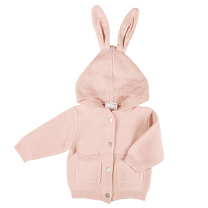 Little Bunny Cardigan in Rose