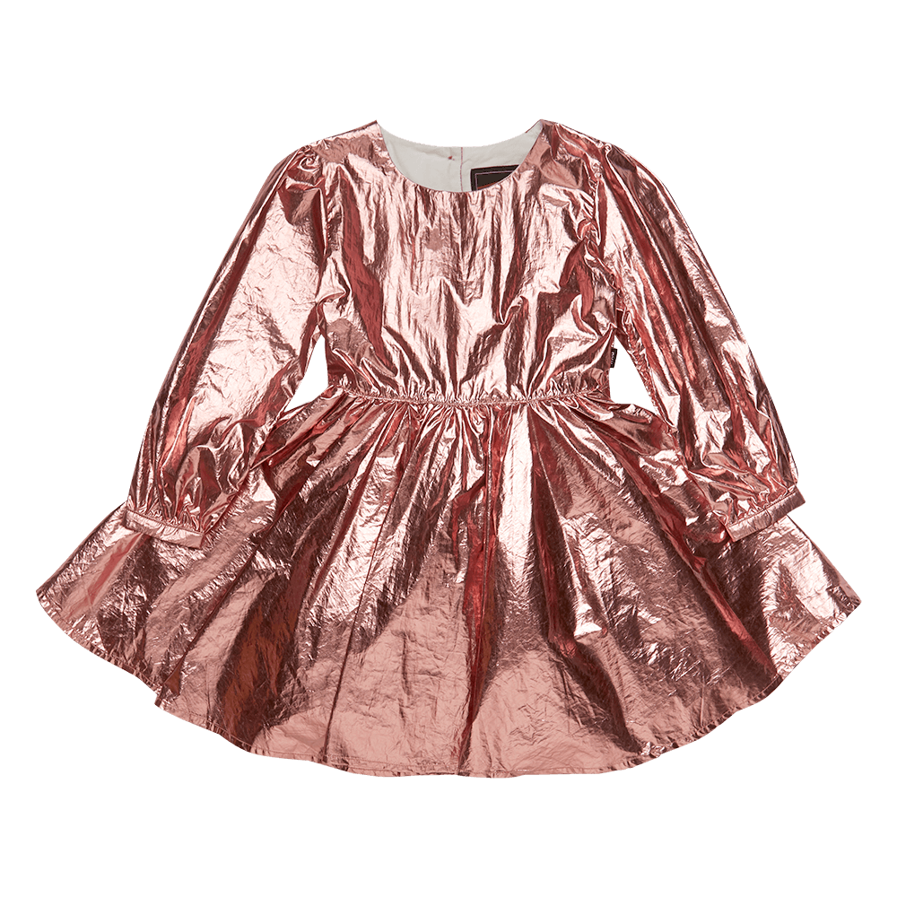Metallic Pink Mad Men Dress