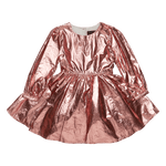 Load image into Gallery viewer, Metallic Pink Mad Men Dress