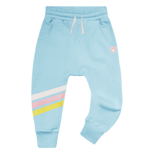 Warrior Girl Track Pant | Blue