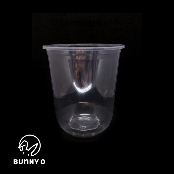 Soft Chubby Q500ml (16oz) - 95mm-Cups & Straws-AB Distribution Bubble Tea