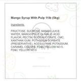 Mango Syrup with Pulp 5kg