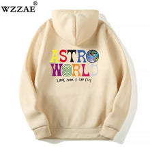 Load image into Gallery viewer, TRAVIS SCOTT ASTROWORLD WISH YOU WERE HERE HOODIES fashion letter ASTROWORLD HOODIE streetwear Man woman Pullover Sweatshirt