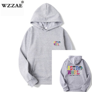 TRAVIS SCOTT ASTROWORLD WISH YOU WERE HERE HOODIES fashion letter ASTROWORLD HOODIE streetwear Man woman Pullover Sweatshirt