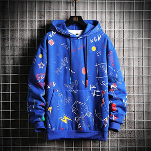 SingleRoad Men's Hoodies Men 2020 Winter Fleece Anime Sweatshirt Male Hip Hop Harajuku Japanese Streetwear Yellow Hoodie Men
