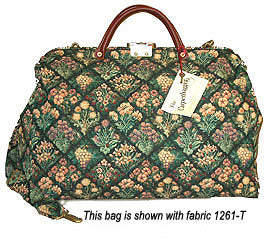 Modern Carpetbag with Shoulder Strap          Weekender--Carry On