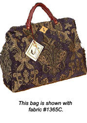The Authentic Carpetbag       ---       Weekender - Victorian Carpet bag- Carry on- Vintage - Mary Poppins