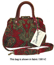 Load image into Gallery viewer, Carpetbag Purse