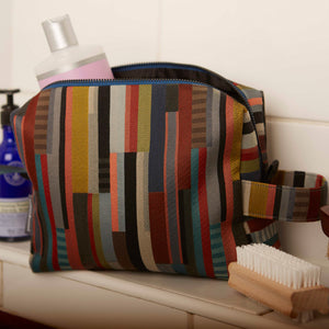 WALLACE+SEWELL - TOILETRY BAG - CUBITT - MULTI