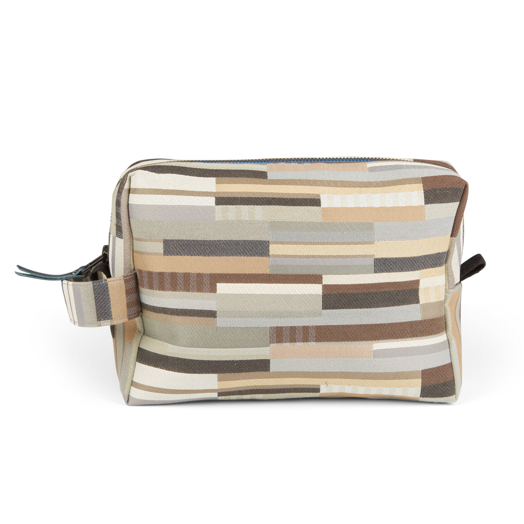 WALLACE+SEWELL - TOILETRY BAG - CUBITT - NEUTRAL