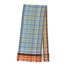 Load image into Gallery viewer, WALLACE+SEWELL - SILK+CASHMERE SCARF - GIOVANNI - BLUE
