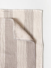 Load image into Gallery viewer, KONTEX - ORGANIC LILLE TOWEL. IVORY+NATURAL