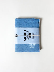 KONTEX - MOKU LIGHT TOWEL. AQUA