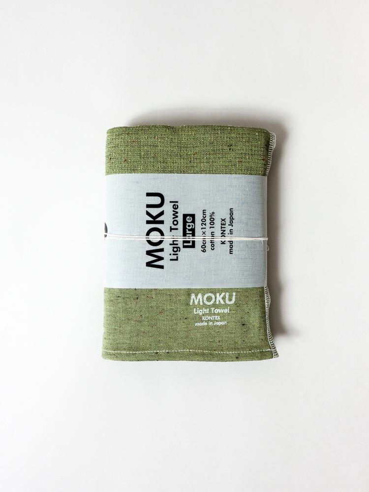 KONTEX - MOKU LIGHT TOWEL. OLIVE