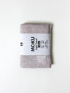 KONTEX - MOKU LIGHT TOWEL. GREY