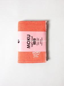 KONTEX - MOKU LIGHT TOWEL. CORAL
