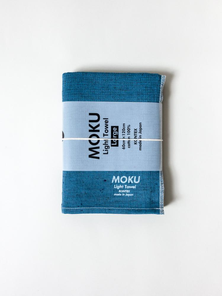 KONTEX - MOKU LIGHT TOWEL. TURQUOISE
