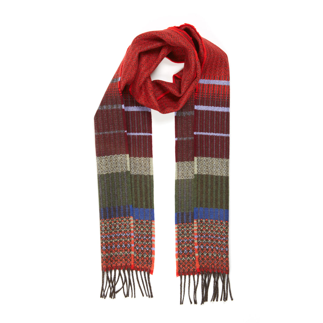 WALLACE+SEWELL - SCARF - KYOTO - RED
