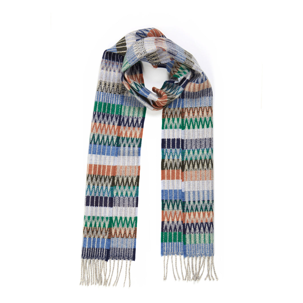 WALLACE+SEWELL - SCARF - TOKYO - DENIM